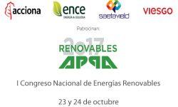 APPA Renovables convoca el I Congreso Nacional de Energías Renovables