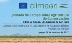 """Jornada de Campo: """"Mitigación y Adaptación al Cambio Climático mediante la agricultura de conservación"""""""