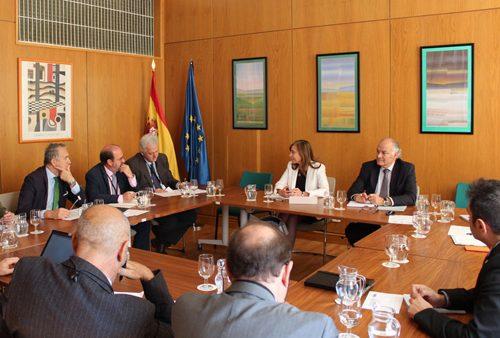 Pacto Nacional por el Agua, reunión asociaciones sector agua