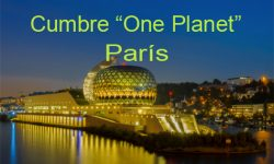 "Cumbre ""One Planet"" en París"
