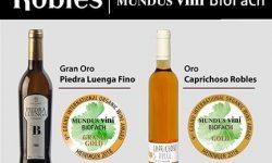 Bodegas Robles se hace con uno de los tres únicos Gran Oro que han concedido en Mundus Vini BioFach 2018, con su 'Piedra Luenga Fino'