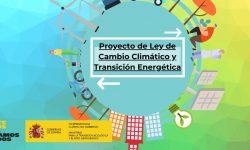 Proyecto de Ley de Cambio Climático y Transición Energética en España