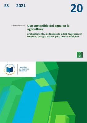 El Tribunal de Cuentas Europeo acaba de publicar un informe especial sobre el uso sostenible del agua en la agricultura. Este informe concluye que los fondos de la PAC favorecen un consumo de agua mayor, pero no más eficiente.